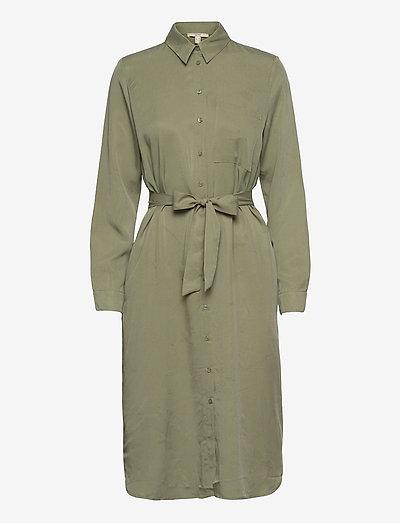 Dresses light woven - sommerkjoler - light khaki