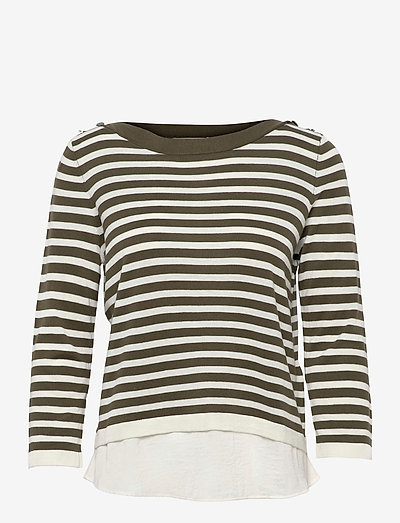 Sweaters - trøjer - khaki green 3