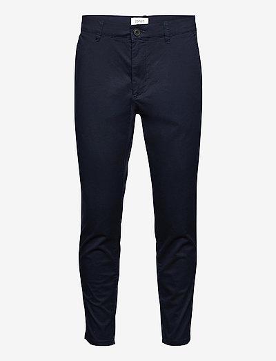 Pants woven - chinos - dark blue