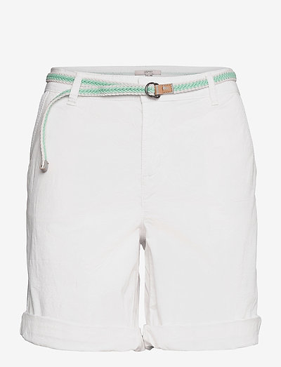 Shorts woven - chino shorts - white