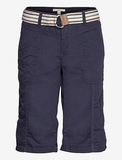 Shorts woven - bermudashorts - navy