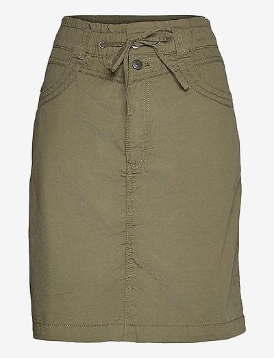 Skirts woven - korte nederdele - khaki green