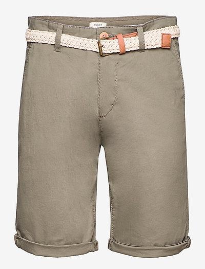 Shorts woven - chinos shorts - dusty green