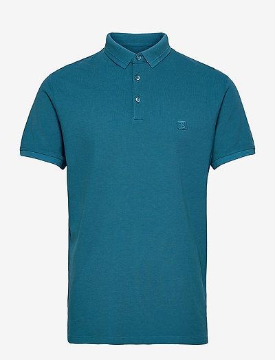 Polo shirts - kortærmede - petrol blue 2