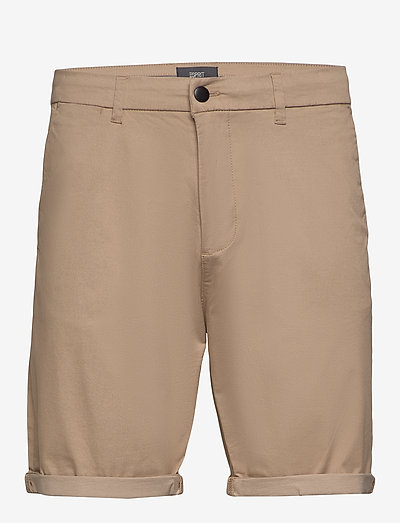 Shorts woven - chinos shorts - beige