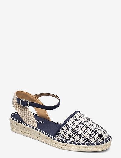 Casual Shoes textile - flade espadrillos - navy