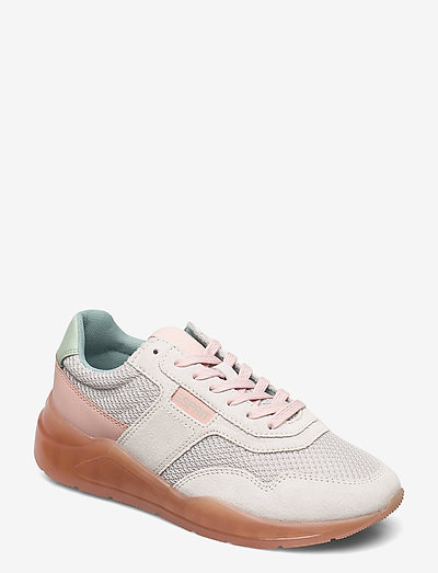 Casual Shoes leather - lave sneakers - light grey