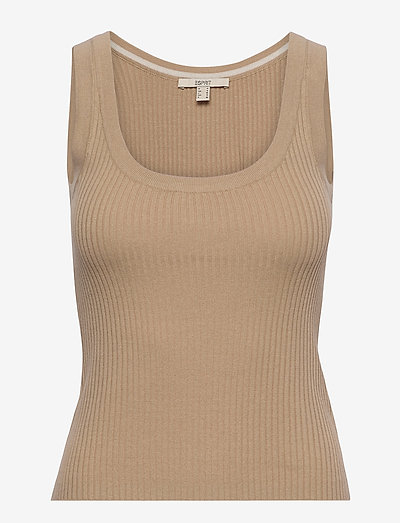 Sweaters - Ærmeløse toppe - sand