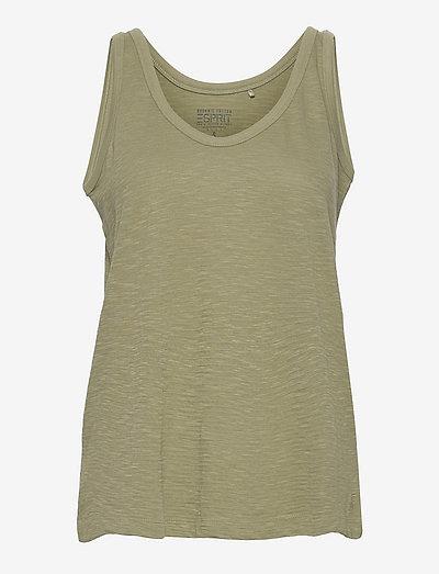 T-Shirts - Ærmeløse toppe - light khaki