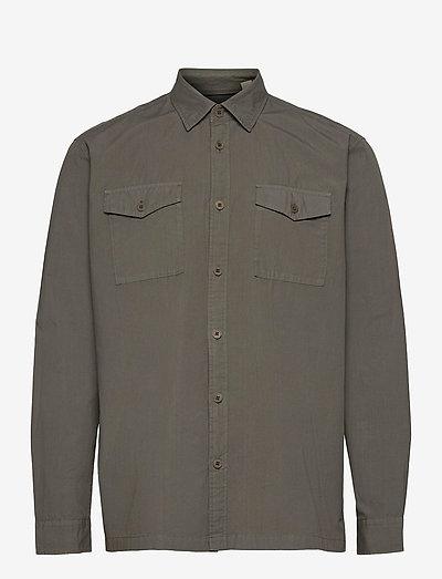 Shirts woven - overdele - dark khaki
