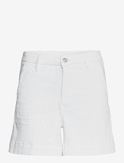 Shorts denim - denimshorts - white