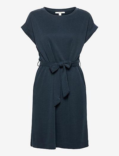 Dresses knitted - sommerkjoler - navy