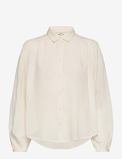 Blouses woven - langærmede bluser - off white