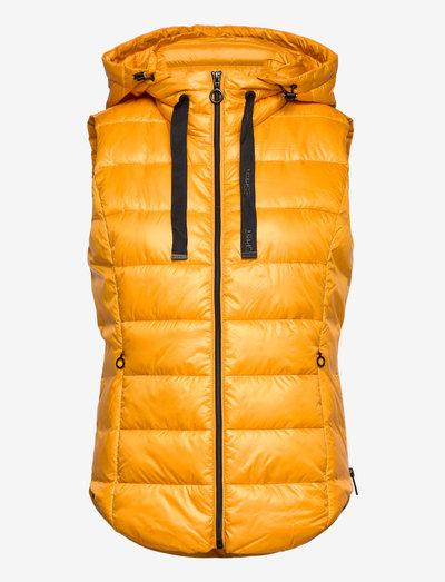 Vests outdoor woven - vatteret veste - honey yellow