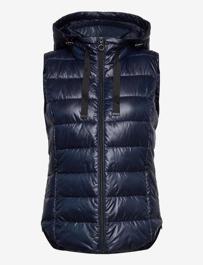 Vests outdoor woven - vatteret veste - navy