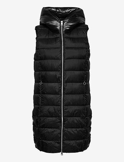 Vests outdoor woven - vatteret veste - black