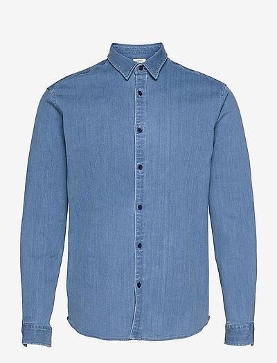 Shirts woven - basic skjorter - blue light wash