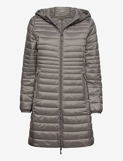 Coats woven - dynefrakke - light gunmetal