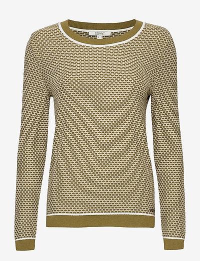 Sweaters - trøjer - olive 4