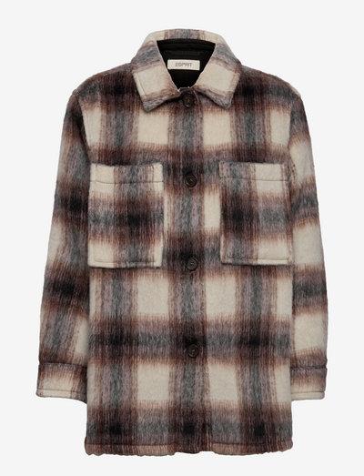 Jackets indoor woven - vinterjakker - black