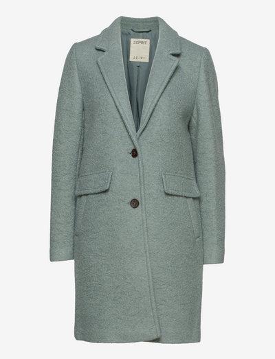 Coats woven - vinterfrakker - dusty green
