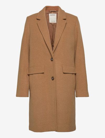 Coats woven - vinterfrakker - camel
