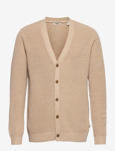Sweaters - basic strik - beige 5