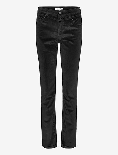 Pants woven - slim fit bukser - black