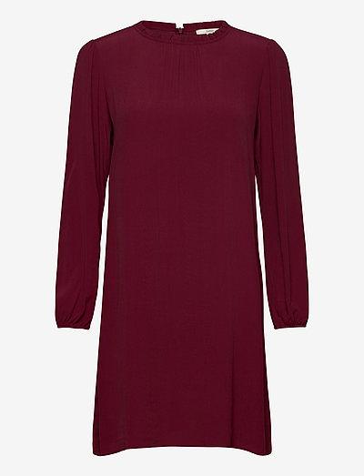 Dresses light woven - hverdagskjoler - bordeaux red