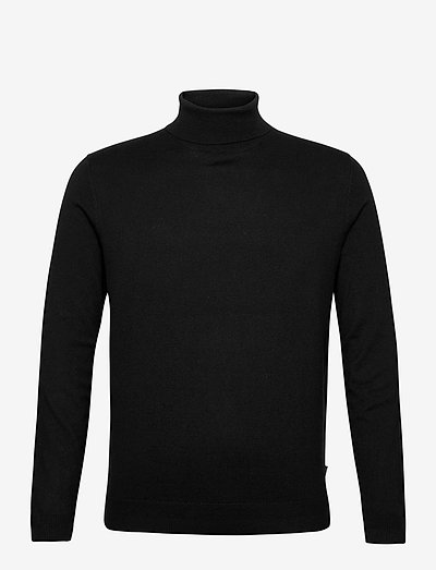 Sweaters - basic gebreide truien - black