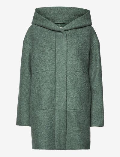 Coats woven - sweatshirts & hættetrøjer - teal blue