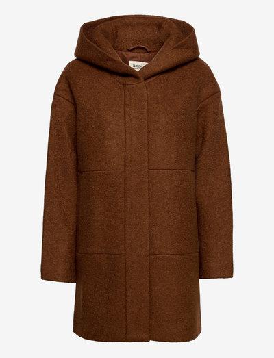 Coats woven - vinterfrakker - toffee