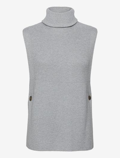 Sweaters - strikveste - light grey 5