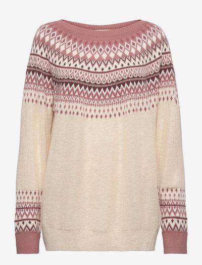 Sweaters - trøjer - sand 4