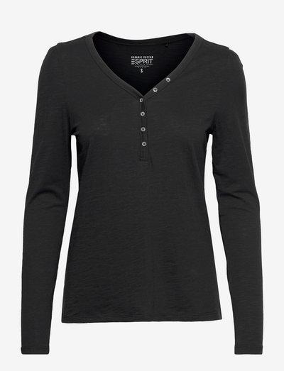 T-Shirts - langærmede toppe - black