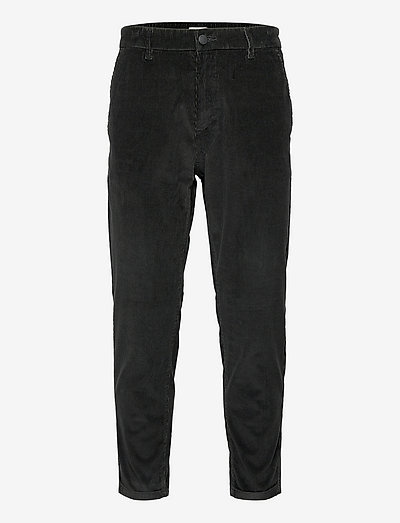 Pants woven - casual - anthracite