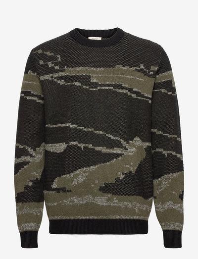 Sweaters - rund hals - black