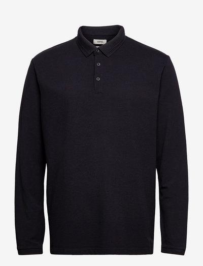 Polo shirts - langærmede - black