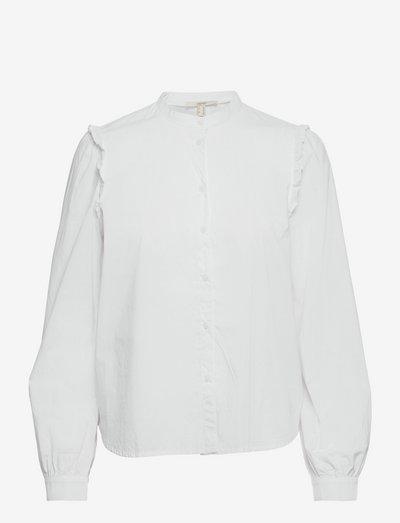 Blouses woven - langærmede bluser - white