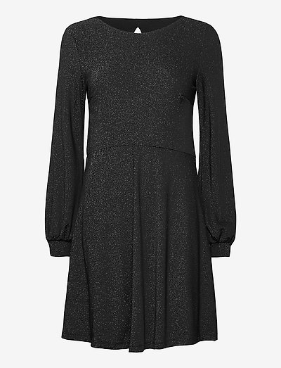 Dresses knitted - hverdagskjoler - black