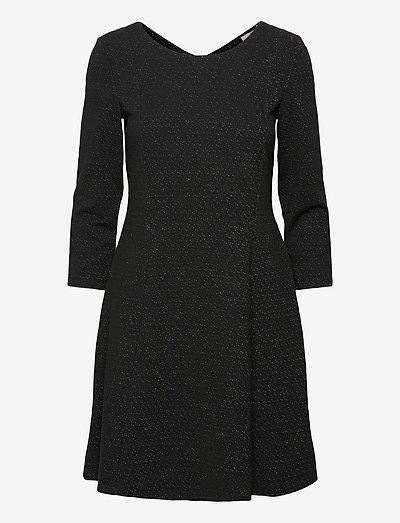 Dresses knitted - cocktailkjoler - black