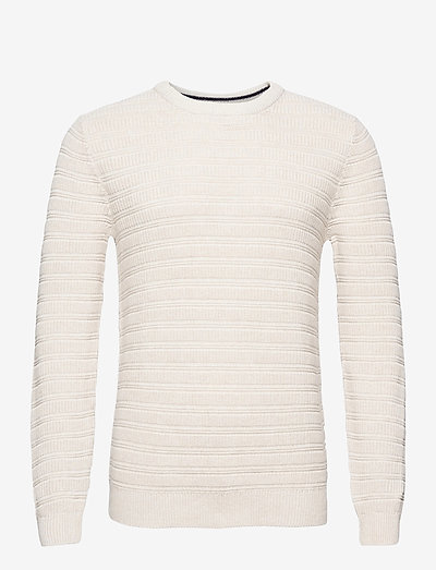 Sweaters - basic strik - off white