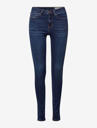 Pants denim - skinny jeans - blue medium wash