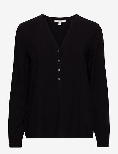 Blouses woven - langærmede bluser - black