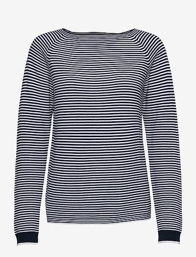 Sweaters - langærmede toppe - navy 2