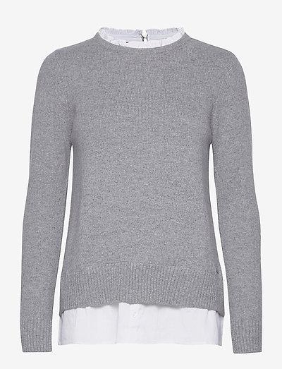 Sweaters - trøjer - light grey 5
