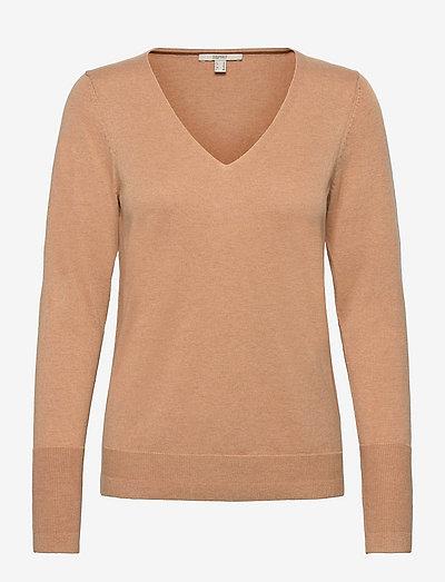 Sweaters - trøjer - khaki beige 5