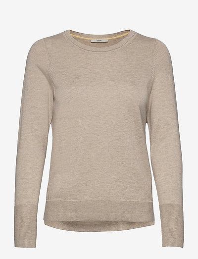 Sweaters - trøjer - sand 5
