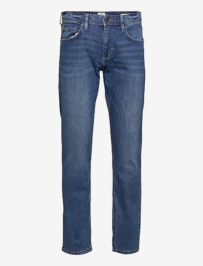 Pants denim - relaxed jeans - blue medium wash