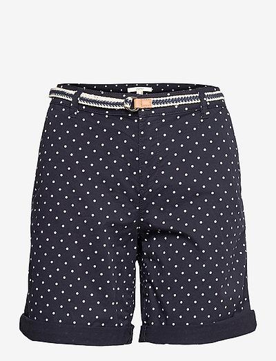 Shorts woven - casual shorts - navy 4